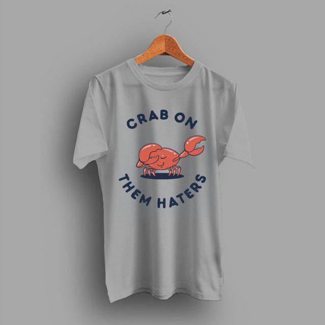 Dabbing Crab On Them Funny T Shirt