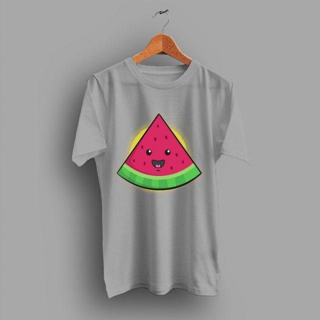 Expression Melonhead Smile Funny Idea T Shirt
