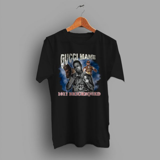 Free Gucci Mane Brick Squad Hip Hop T Shirt