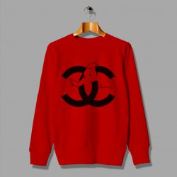 Ghost Buster Expression Coco Funny Chanel Sweatshirt