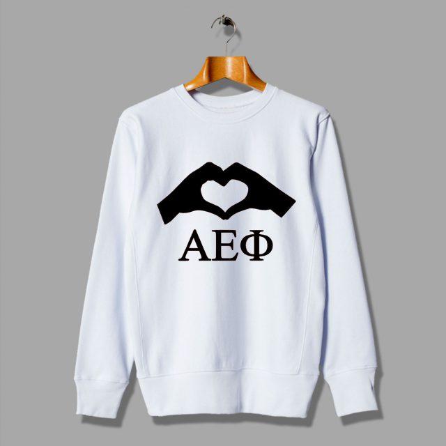 Hands To Love Alpha Epilson Phi Sweatshirt