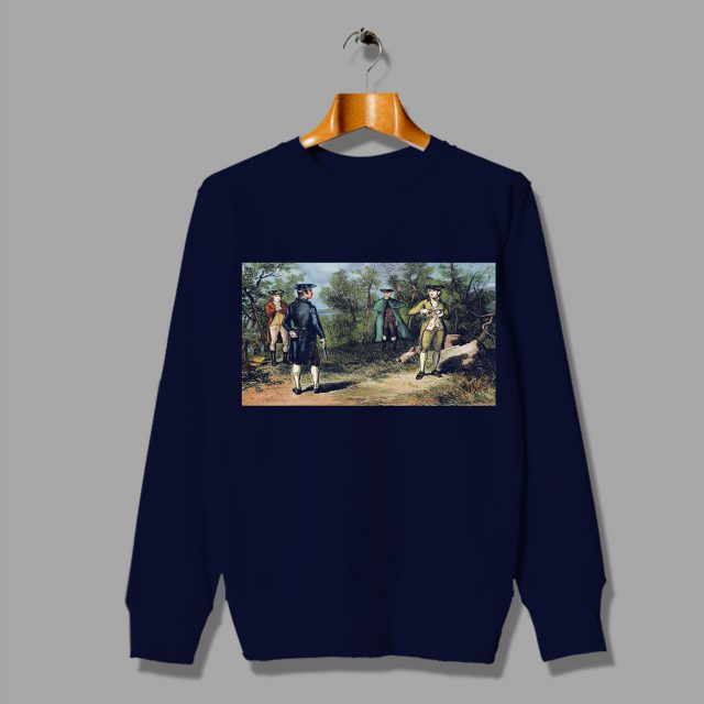 History of New York Alexander Hamilton and Aaron Burr Sweatshirt
