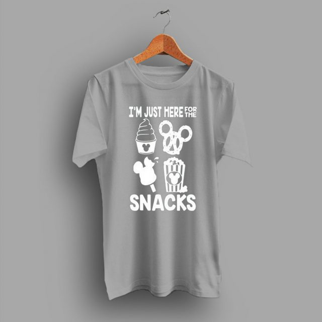 I'm Just Here For The Snacks Trendy Cute T Shirt