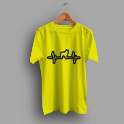 Love Dog Heartbeat dog Lovers Gift T Shirt