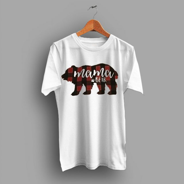 Mama Bear Cheap Baby Shower Gift Mom T Shirt