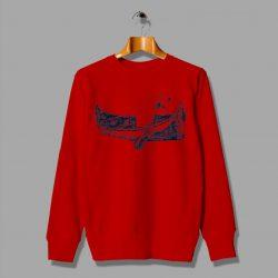 Manatee In a Canoe Cheap Sweatshirt