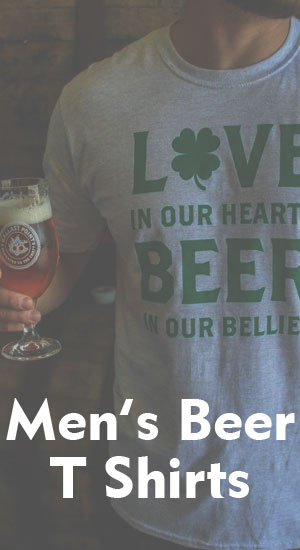 Men's Beer T Shirts - Men's Clothing