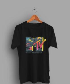 Music Television Retro Cheap T Shirt