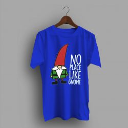 No Place Like Gnom Womens Gnom Night T Shirt