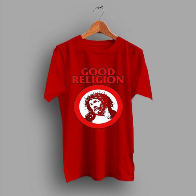 Punk Rock Funny Bad Parody Good Religion Jesus T Shirt