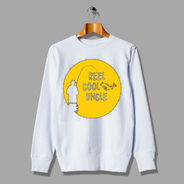 Reel Cool Uncle Cheap Fisher Gift Ideas Sweatshirt