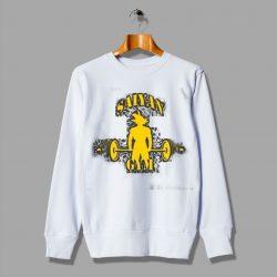 Saiyan Gym Training Cheap Anime Dragon Ball Sweatshirt