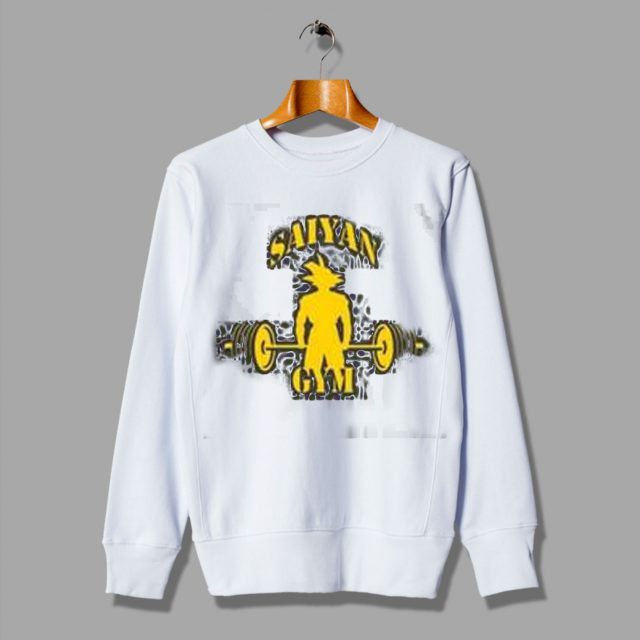 Saiyan Gym Training Cheap Anime Dragon Ball Sweatshirt
