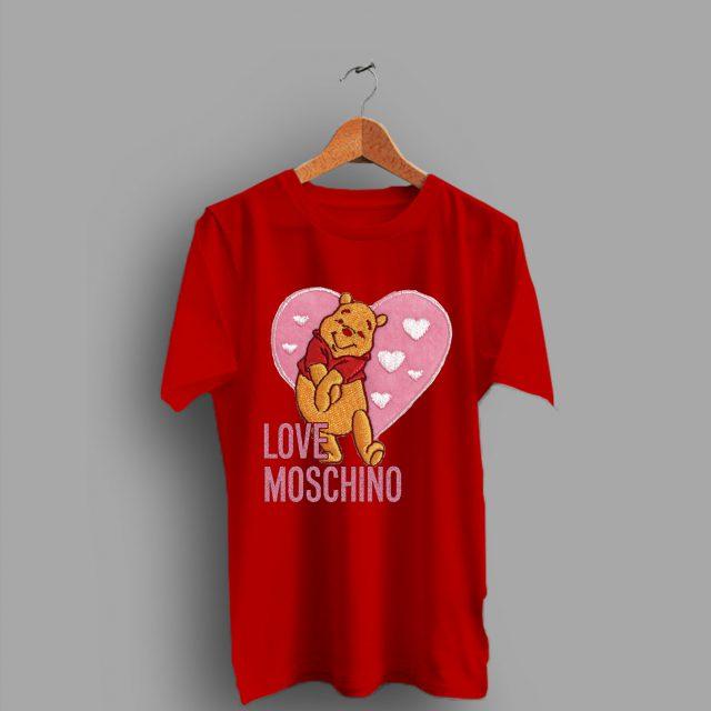 Winnie The Pooh Love Moschino Valentine Day T Shirt