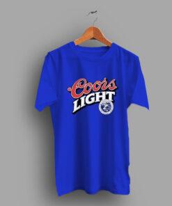 A Taste Horn Coors Light Beer T Shirt