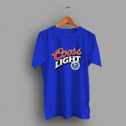 A Taste Horn Coors Light Beer T Shirt