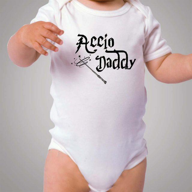 Accio Daddy Harry Potter Baby Onesie Bodysuit