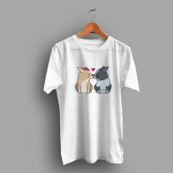 Adoption For Dog Kisses Cute Gift Dog Lover T Shirt