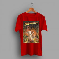 Adventure Indiana Jones Raiders Of The Lost Classic Poster T Shirt