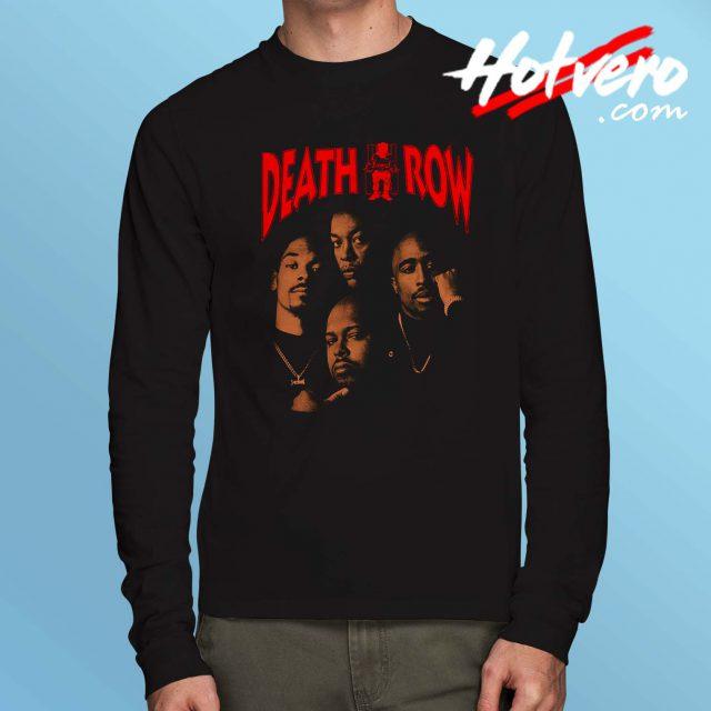 All Artist Death Row Record Long Sleeve T Shirt