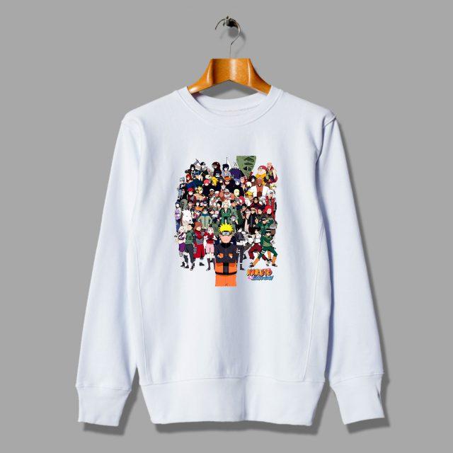 Amazing Naruto Gang Japanese Unisex Sweatshirt