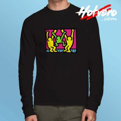 American People Pop Art Long Sleeve T Shirt