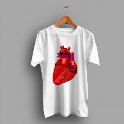 Anatomical Heart Valentines Funny Day Gift T Shirt