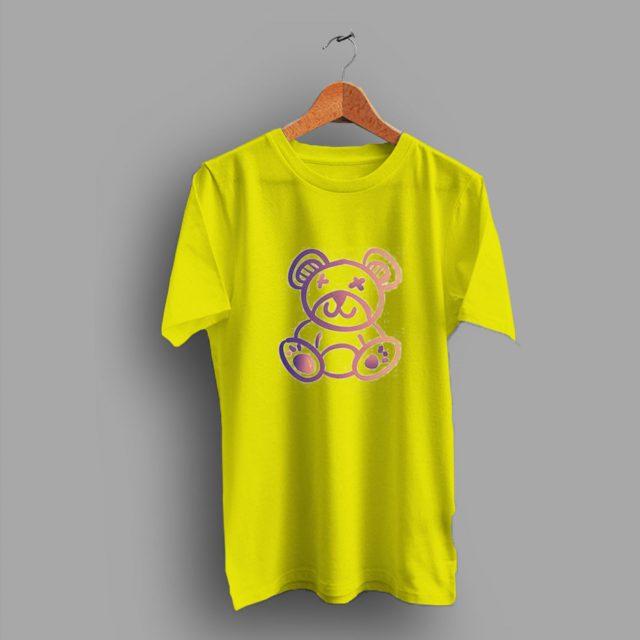 Animal Colorful Teddy Bear Cute T Shirt