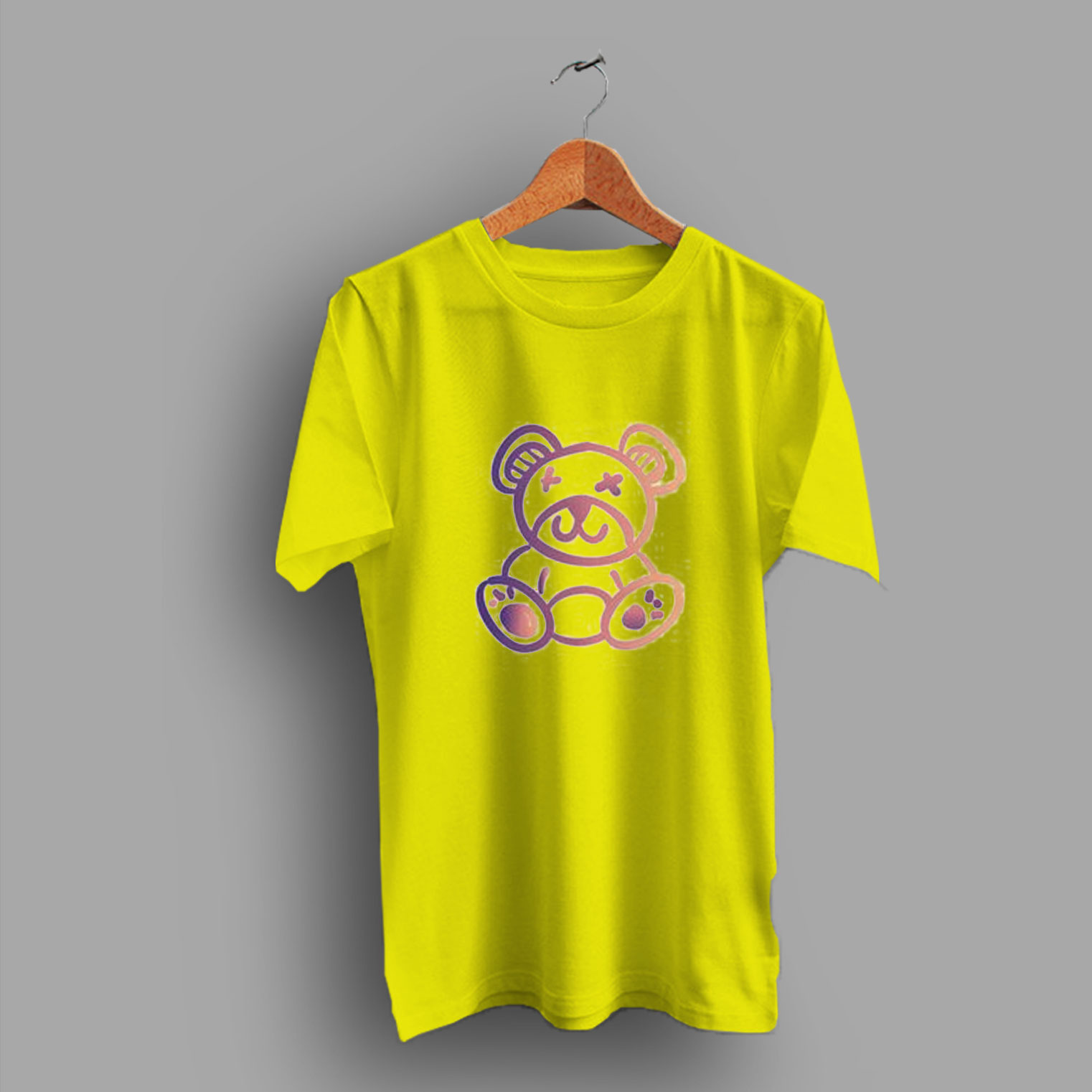 f08bd496bf1c Animal Colorful Teddy Bear Cute T Shirt - HotVero.com