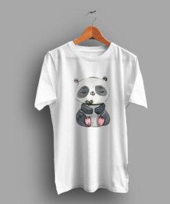 Animal Realistic Cute Panda T Shirt