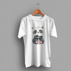 Animal Realistic Cute Panda T Shirt
