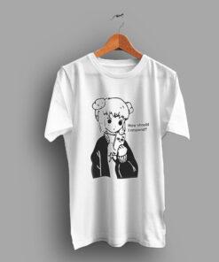 Anime Japanese How Should I Respond Kawai T Shirt