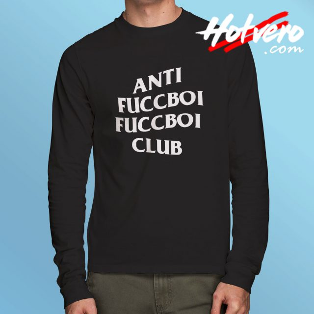 Anti Fuccboi Club ASSC Unisex Long Sleeve Shirt