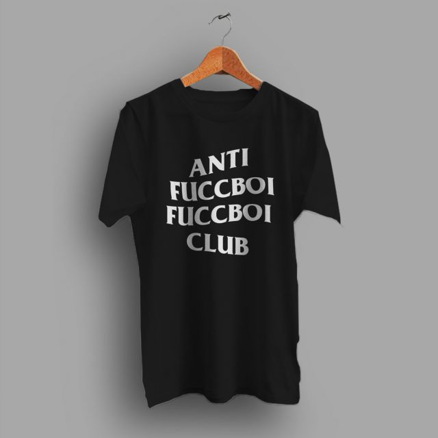 Anti Fuccboi Fuccboi Club ASSC Parody T Shirt