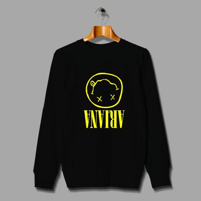 Ariana Grande NIrvana Parody Unisex Sweatshirt