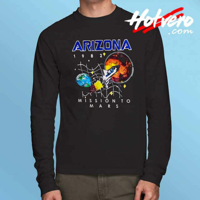 Arizona Space Mission To Mars Long Sleeve Shirt