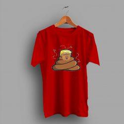Baby Trump Funny Poop Emoji T Shirt