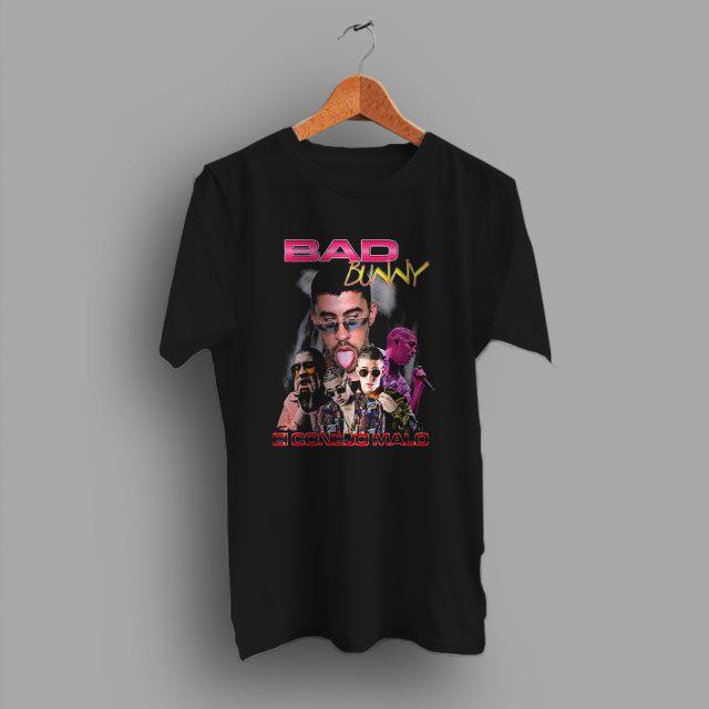 Bad Bunny 90s Hip Hop Legend T Shirt Rap Tee