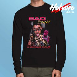 Bad Bunny Rapper Long Sleeve T Shirt
