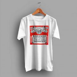 Bahamas King Of Beaches Budweiser Summer T Shirt