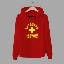 Baywatch Lifeguard Los Angeles California Hoodie
