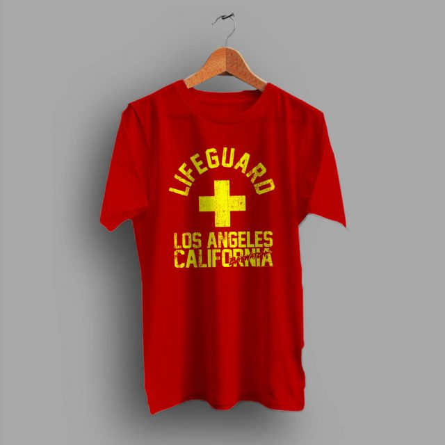 Baywatch Lifeguard Los Angeles California Summer T Shirt