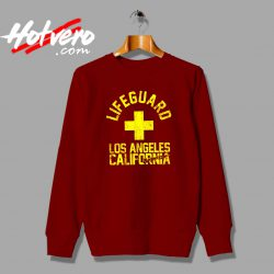 Baywatch Lifeguard Los Angeles California Sweatshirt