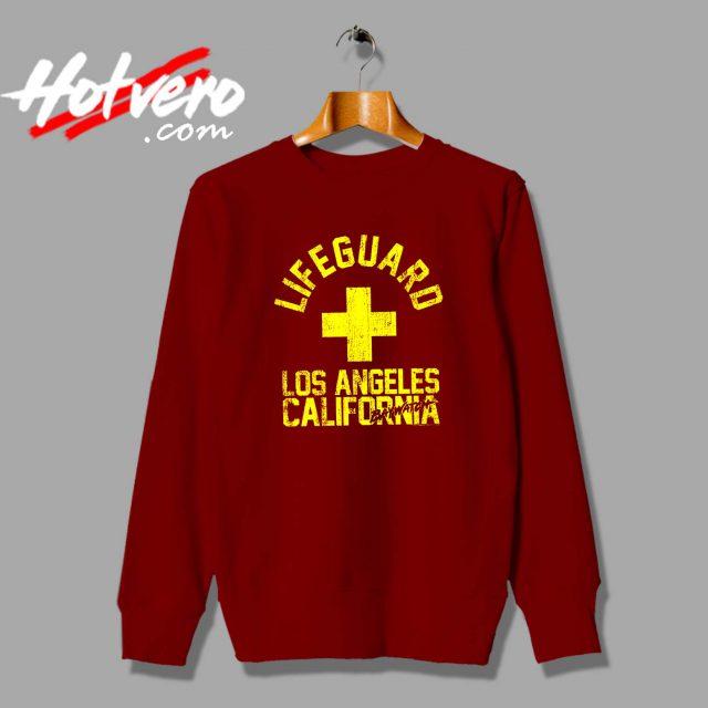 Baywatch Lifeguard Los Angeles California Sweatshirt