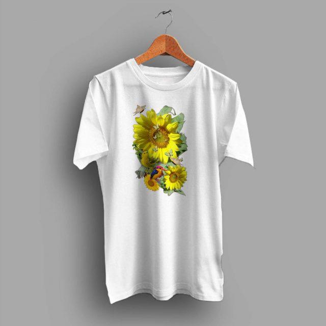 Beautiful Sunflower Vintage Summer T Shirt