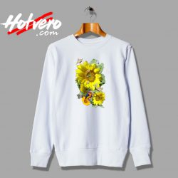 Beautiful Sunflower Vintage Sweatshirt