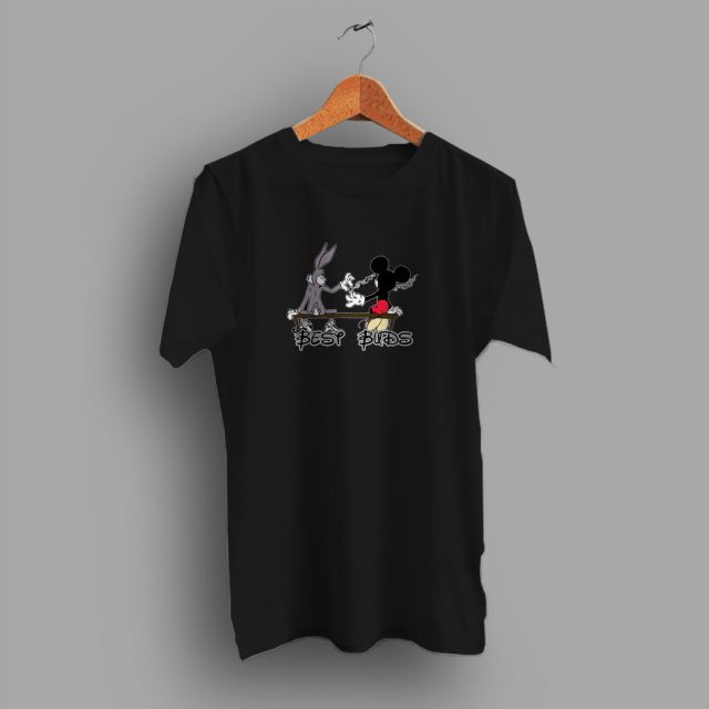 Best Buds Funny Mickey Mouse Disney Parody T Shirt