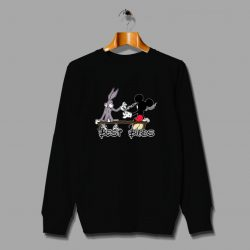 Best Buds Mickey Mouse Disney Parody Sweatshirt