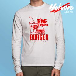Big Kahuna Burger Pulp Fiction Long Sleeve T Shirt
