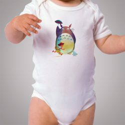 Bodysuit Totoro Go To School Baby Onesie